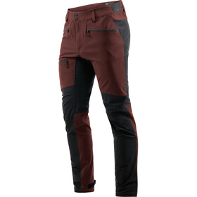 Haglöfs Rugged Flex Pants Men maroon red/true black